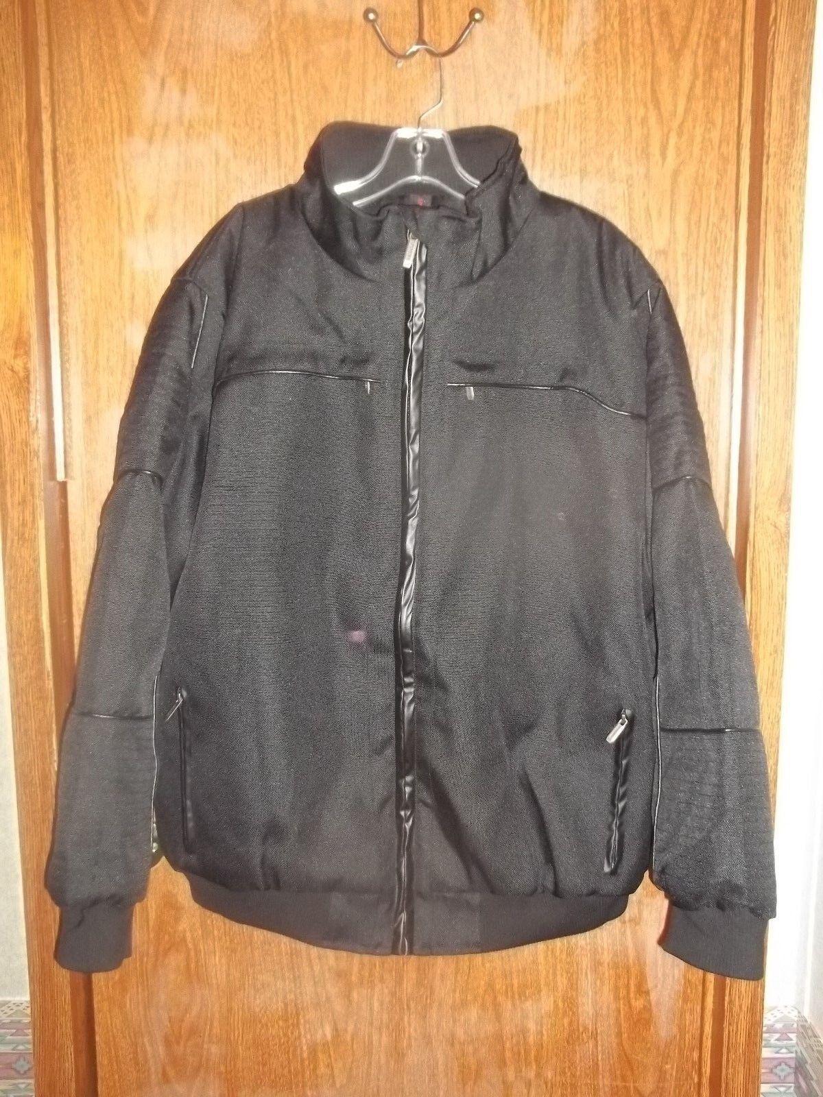 1997dfbb0 MENS SIZE XL SPORTIER 1957 DOBBYBOY BLACK BOMBER JACKET HEAVYWEIGHT RET. $99