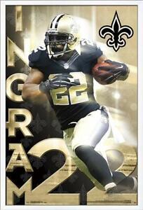 Marca-Primer-Ingram-Nuevo-Orleans-Saints-Poster-22x34-NFL-Futbol-16022