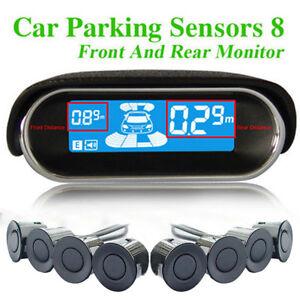 LCD-Display-Car-Parking-Sensor-8-Rear-Front-View-Reverse-Backup-Radar-System-Kit
