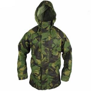 Details about UK BRITISH ARMY SURPLUS DPM CAMO GORE-TEX WATERPROOF  BREATHABLE JACKET,MVP COAT