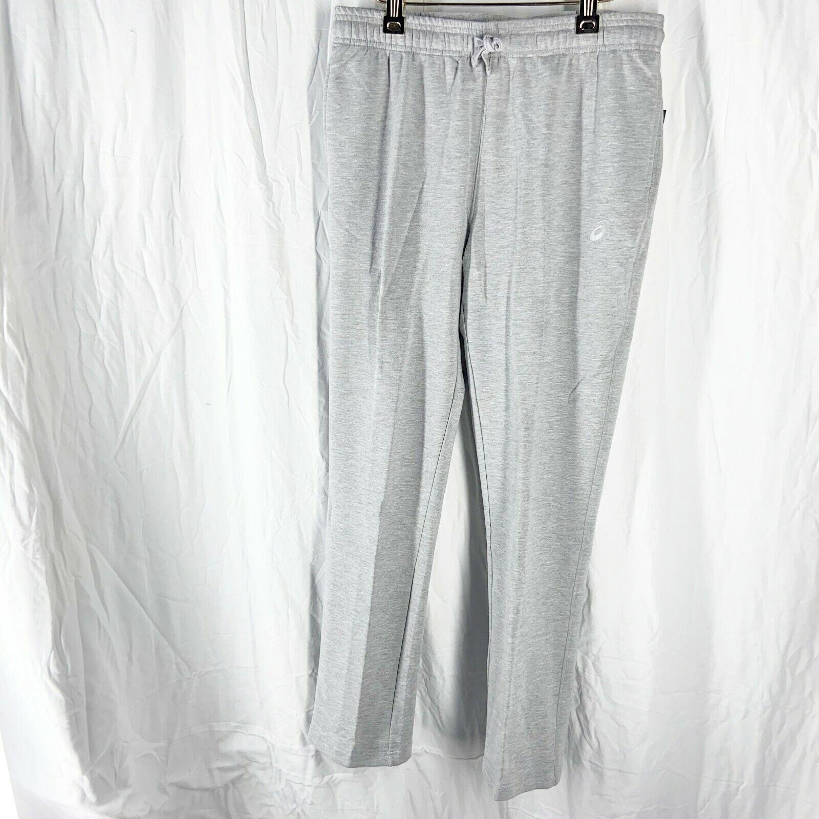 ASICS Womens Everyday Sweatpants Gray Size L