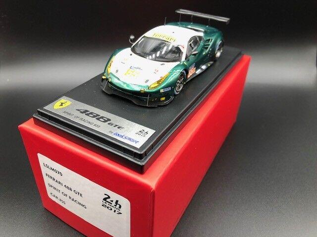 Ferrari 488 GTE Le Mans 2017 GTE Am Cameron Scott Cioci, Looksmart 1 43, LSLM070