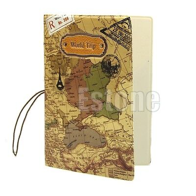 Protector Cover Case Bag Wallet For Travel Passport Holder Ticket Document