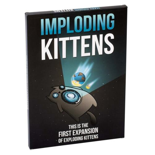 Imploding Kittens This is the First Expansion of Exploding Kittens 0852131006051