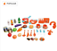 thumbnail 3 - Children's Play Kitchen Set And Accessories With Sounds And Lights, Pots And Pan