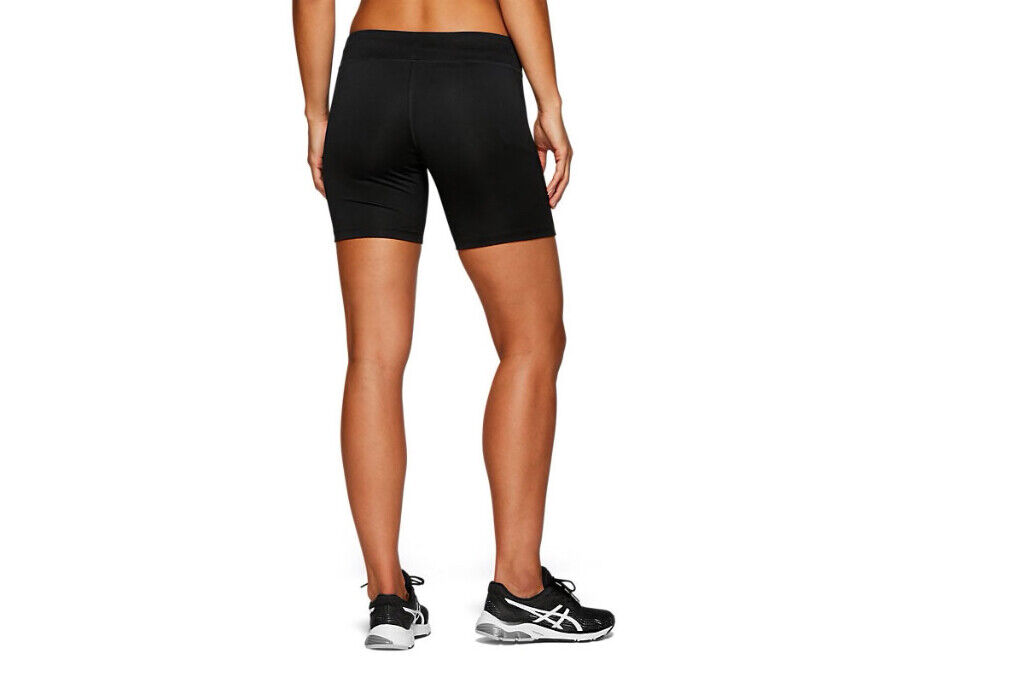 ASICS 12.7cm Sprinter Damen Laufen Sport Schwarz Damen Eng Shorts 2012A037-001