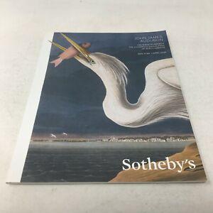 JOHN-JAMES-AUDUBON-2014-Sotheby-039-s-New-York-Catalog-Birds-of-America-Quadrupeds
