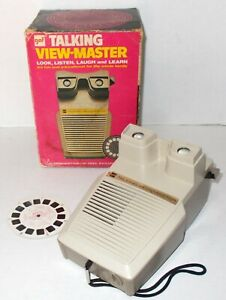 VINTAGE-GAF-TALKING-VIEW-MASTER-VIEWER-EXC-CONDITION-IN-BOX-MIB-WORKS-GREAT