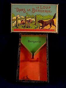 Ancien Jeu Adresse Jeux Réunis N°1394    Nk Atlas 1900  le Loup Dans La Bergerie