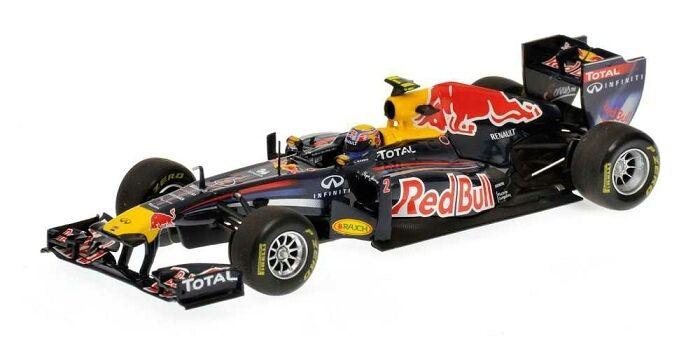 Formule Formule Formule 1 rouge Bull RB7 pilote Webber M. 2011 (410110002) 1 43 Minichamps f36c82