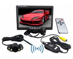 7-034-TFT-LCD-Car-Rear-View-Monitor-amp-2-4G-Wireless-Car-backup-Camera-Night-Vision
