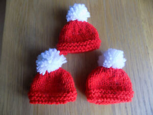 Image is loading Ferrero-Rocher-hand-knitted-Easter-Santa-hat-covers- 4efbae99700