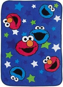 Sesame-Street-Toddler-Blanket-Elmo-amp-Cookie-Monster