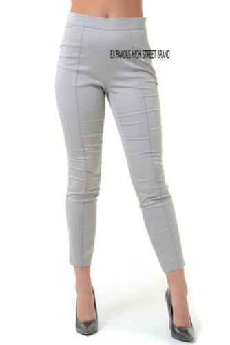 Da Donna Ex-M/&S Cotton Slim Fit Tapered Gamba 7//8 Estivi Capri Pantaloni.