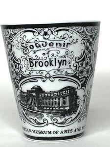 Brooklyn Museum Arts And Sciences Coffee Tea Mug NYC Vintage Elegant Porcelain