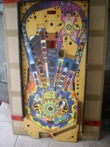 Playfield for pinball Austin Powers (Stern)