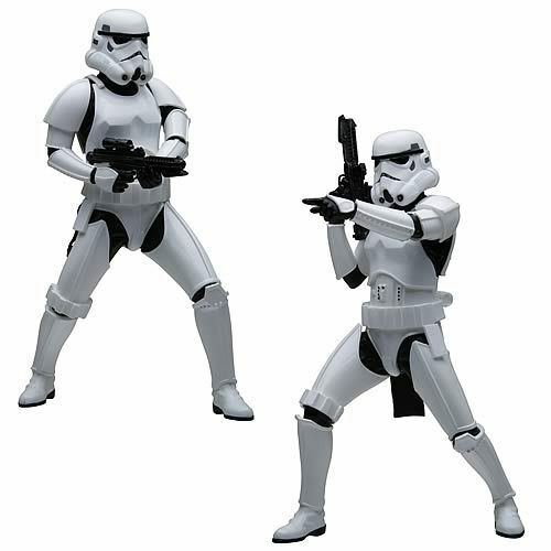 Star Wars - 2 x Stormtroopers - 8  Scale Figures - Limited Edition - ArtFX