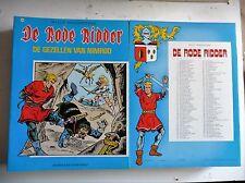 De rode ridder nr 103  EERSTE Druk ongekleurd  1983