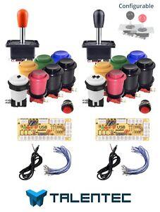 kit-botones-arcade-de-2-jugadores-y-28mm-Interfaz-USB-joysticks-CONFIGURABLE