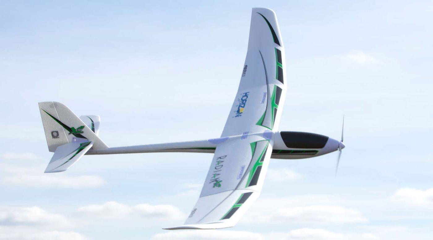 E-Flite Eflite Radian XL 2.6m RC Remote Control Glider Sailplane PNP EFL5575