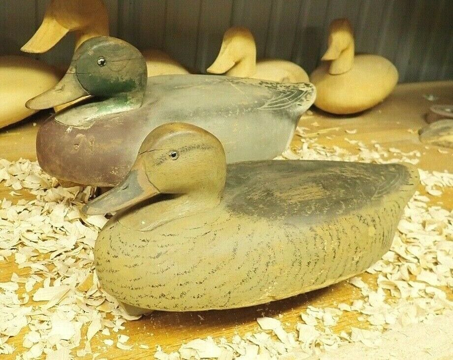 Wildfowler Señuelo fábrica Mallard Drake & gallina Señuelos De Trabajo