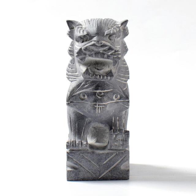 """Plaster concrete lion mold garden casting abs plastic mould 12/"""" x 2.5/"""" thick"""