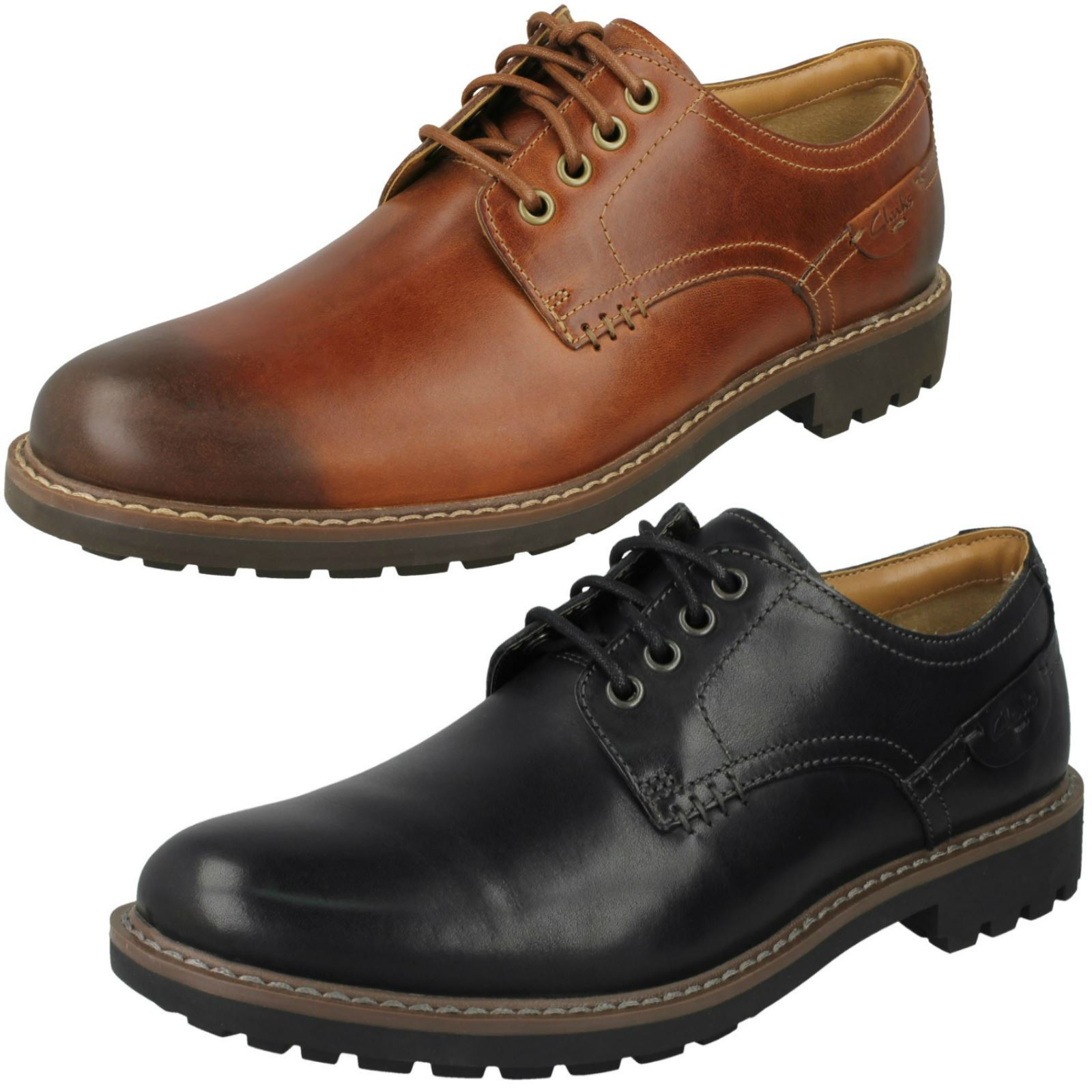 Mens Clarks Formal  Lace Up schuhe 'Montacute Hall'