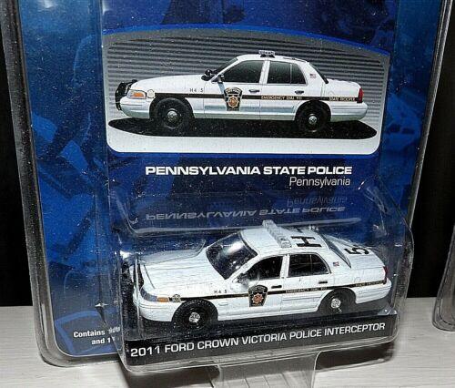 GREENLIGHT 2012 FORD POLICE INTERCEPTOR PA STATE POLICE PSP