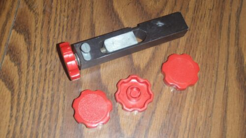 Made in the US! One RED knob for Dillon powder measure bar; SDB RL550 XL750 +