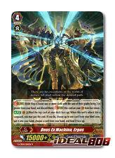Cardfight Vanguard  x 4 Deus Ex Machina, Ergos - G-CB04/014EN - R Mint