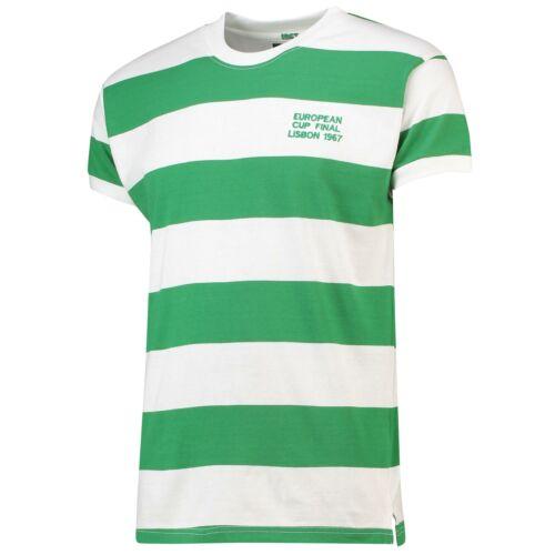 Celtic 1967 FINALE EUROPEI camicia da uomo FOOTBALL Fanatics
