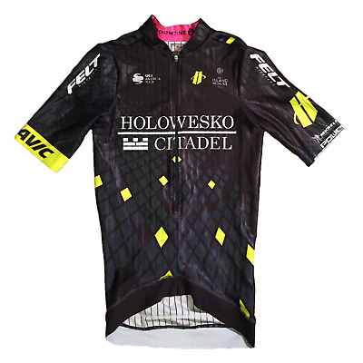 Noir Taille M New 2017 Men/'s Hincapie Racing Team ARROW SS COURSE CYCLISTE JERSEY