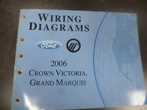 2006 Ford Crown Victoria Electrical Wiring Diagrams Manual ...