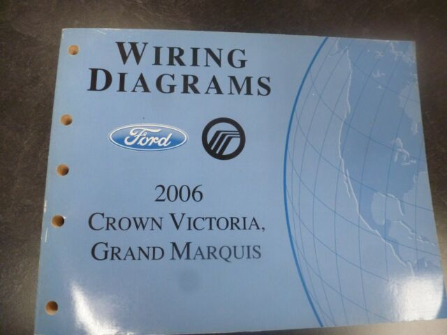 2006 Ford Crown Victoria Electrical Wiring Diagrams Manual