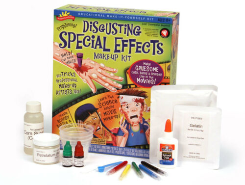 DISGUSTING SPECIAL EFFECTS MAKE-UP EDUCATIONAL SCIENTIFIC EXPLORER SCIENCE KIT