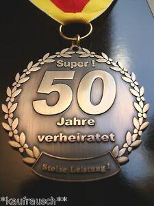 Orden Medaille Goldene Hochzeit 50 Jahre Verheiratet Goldhochzeit Ebay