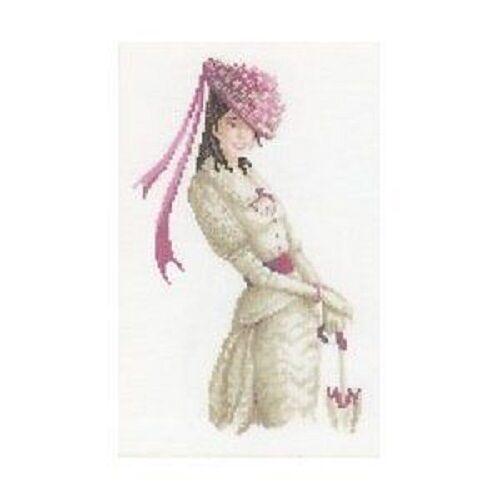 "8.25 /""X11.75/"" lady Cross Stitch Kit-riolis 14 count Miss Sunshine"
