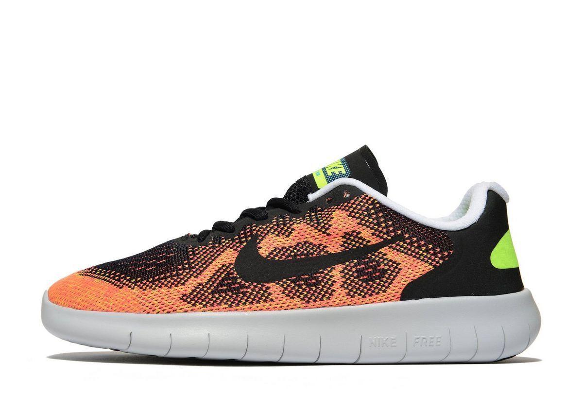 Nike Free Run Run Run Girls/ femmes Trainer (Variable Sizes) Noir Brand New In Box 5c9b0a