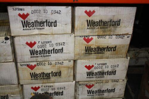 25 Weatherford 3//4 Sucker Rod Box Coupling FHMS Sprayed Metal 11B-0064