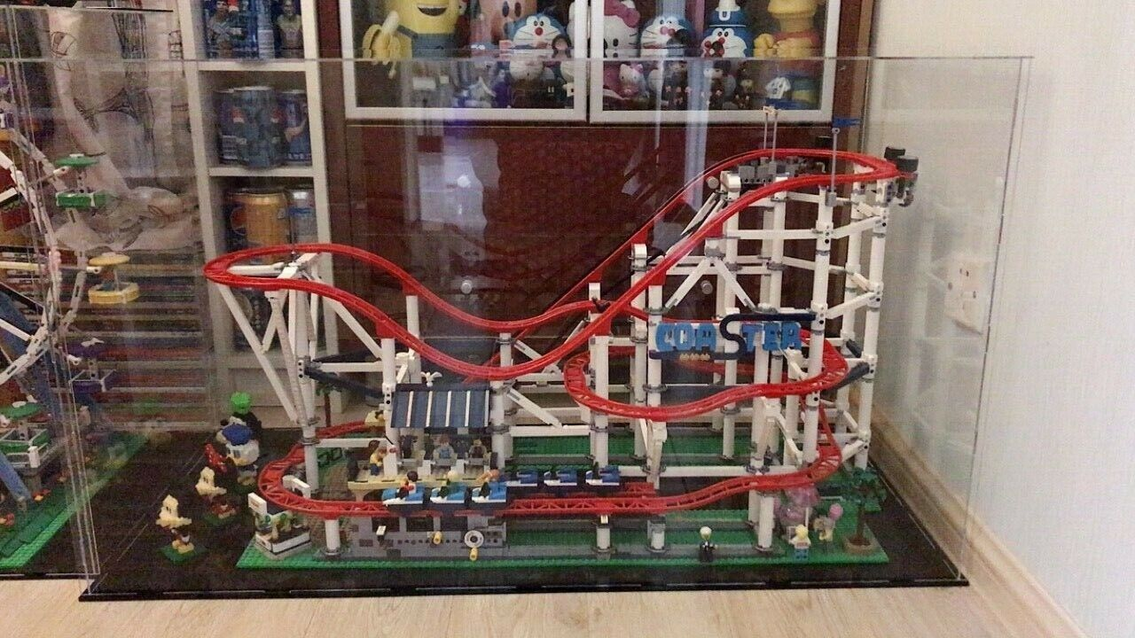 Acrylic display cases for  Lego Roller Coaster 10261(Australia Top Rated Seller)