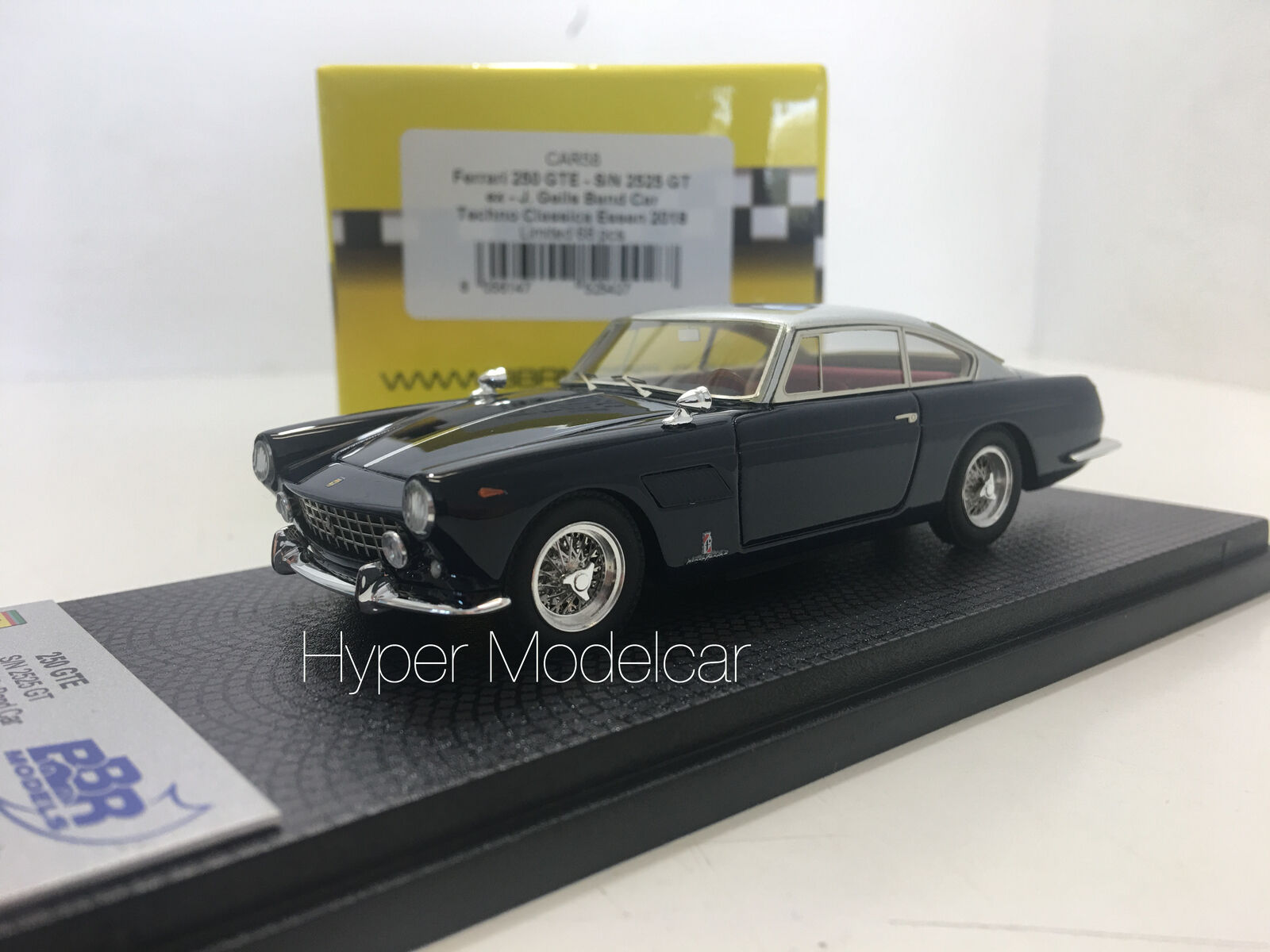 BBR 1 43 FERRARI 250 GTE S N 2525GT COUPE 1959 TECHNO CLASSICA ART. CAR58