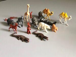 Vintage-Plastic-Animals-Marx-Timee