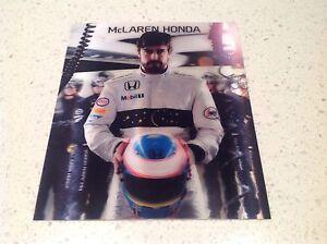 MOTOR-RACING-FORMULA-1-MCLAREN-FERNANDO-ALONSO-OFFICIAL-3D-DRIVERS-CARD-BARGAIN