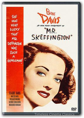 Mr. Skeffington DVD New Bette Davis Claude Rains Richard Waring Walter Adel