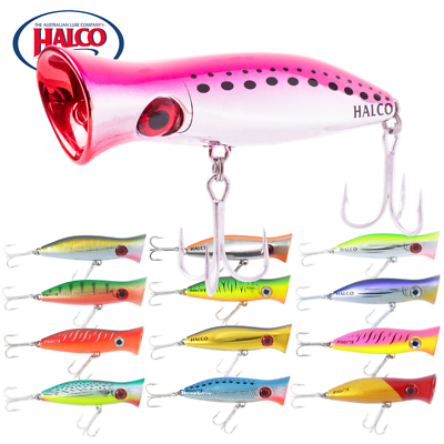 HALCO TOPWATER LURE ROOSTA POPPER 80