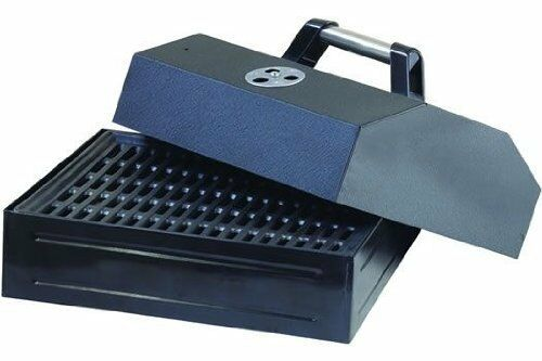 Camp Chef Barbecue Box wLid Camping BBQ Outdoor Cooking Grill Grilling Cast Iron