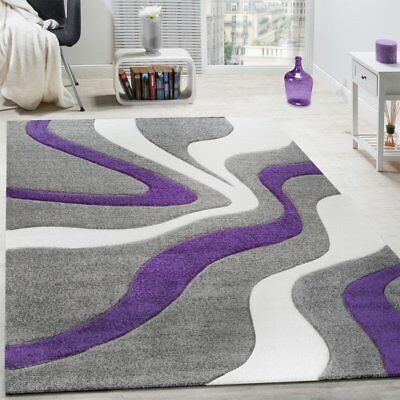 Modern Contemporary Rugs Grey White