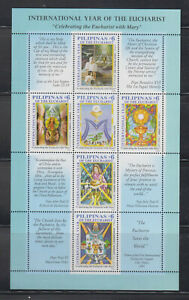 Philippine Stamps 2005 International Year of the Eucharist Sheetlet, MNH