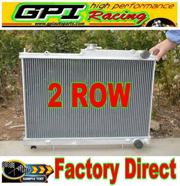 42MM Aluminum Radiator for Nissan Skyline R33 R34 GTR GTST RB25DET Manual MT