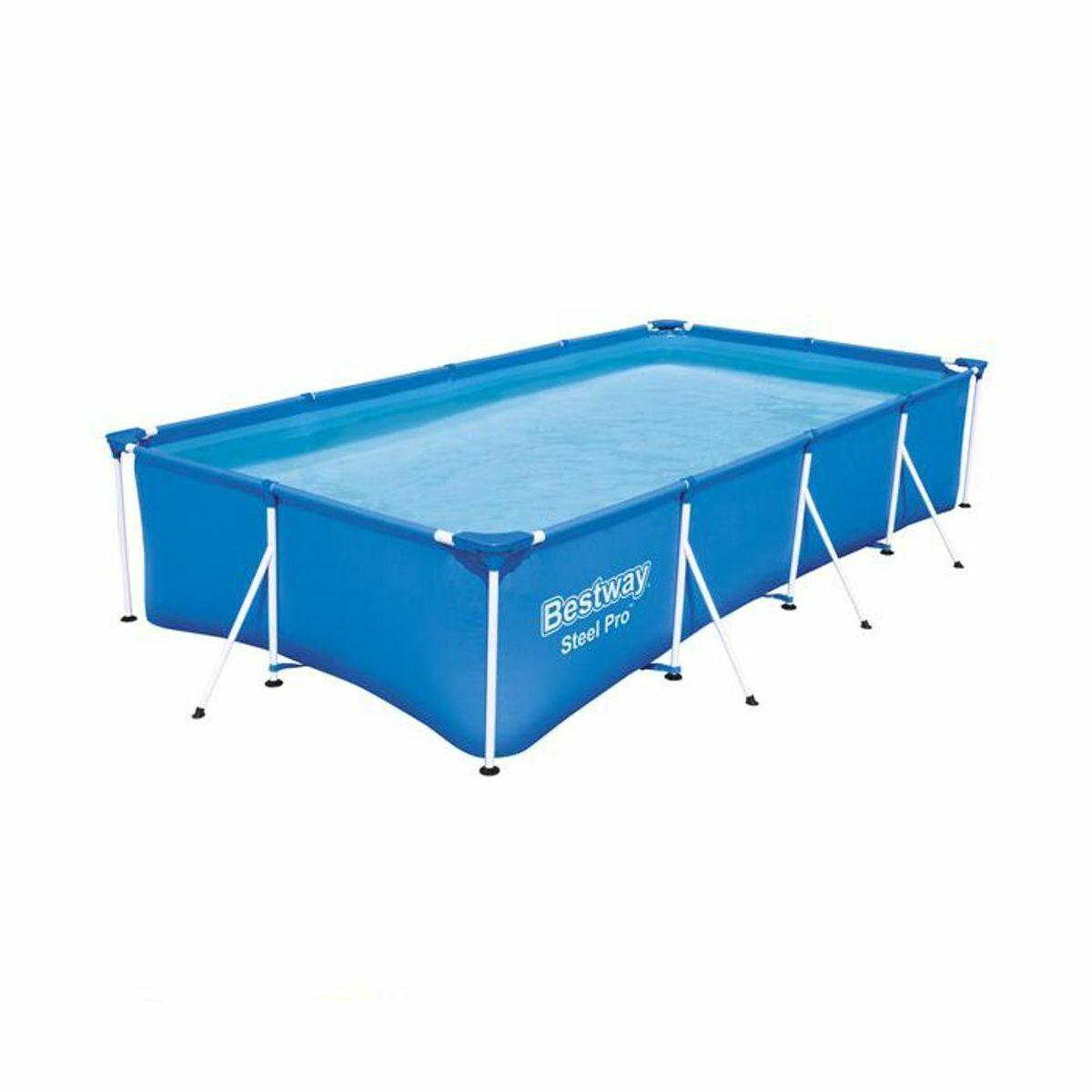 Bestway 56424 Steel Pro Frame Pool Set 13FT 400 x 211 x 81 cm Filter Pump